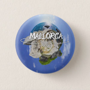 Mallorca 360 Small Button Lone Sky Roqueta Logo